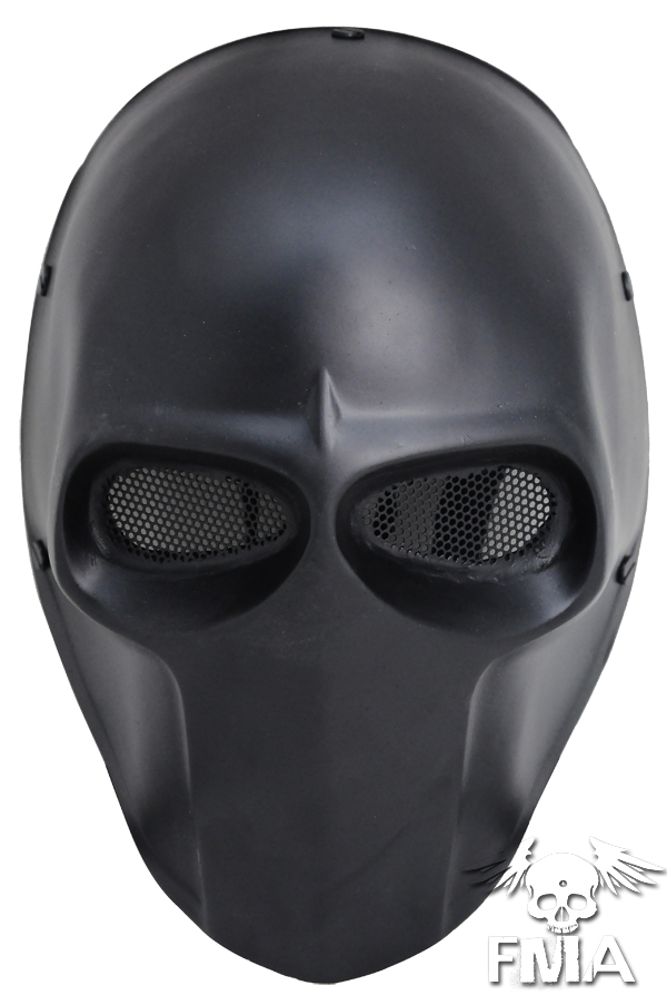 FMA Wire Mesh Basic Mask Black For Airsoft TB636