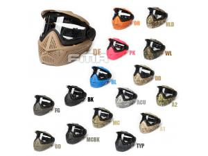 FMA F2 Full face mask with single layer FM-F0026