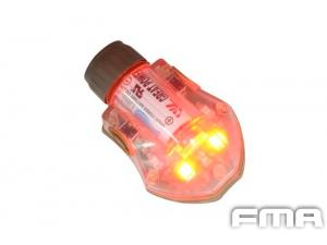 FMA  Manta Strobe  LOGO TYPE  RED  tb379