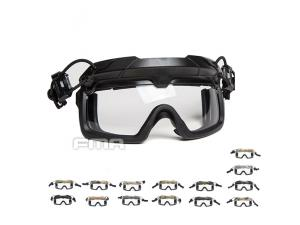 FMA Tactical Helmet Safety Goggles WHITE TB1333-W