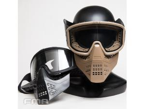 FMA JT Airsoft Full Face Mask  BK/DE TB1338