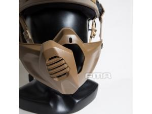 FMA Half Mask for Tactical Helmet BK/DE/FG TB1354
