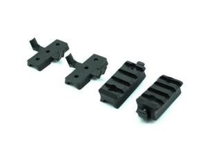 FMA Plastic Mount Set for OPS Helmet Rail TB293