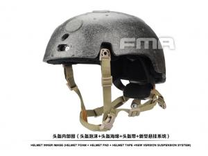 FMA New suspension and high level memory pad for Ballistic helmet  TB1050