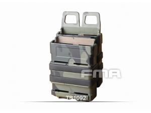 FMA Water Transfer FAST Magazine Holster Set MultiCam Black FOR 5.56