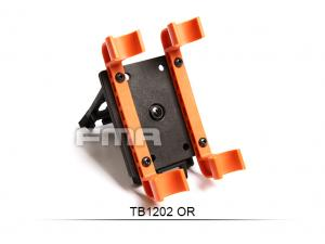 FMA Revolutionary Practical 4Q independent Series Shotshell Carrier Plastic Orange TB1202-OR