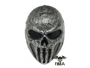 "FMA  Wire Mesh ""SKULL PUNISNER""  Gray Mask (Senior model)tb577"