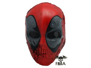"FMA  Wire Mesh ""SKULL 40D""  RED Mask  tb579"