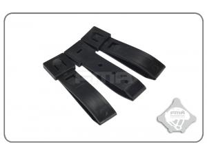 "FMA 3""Strap buckle accessory (3pcs for a set)BK  TB1032-BK"