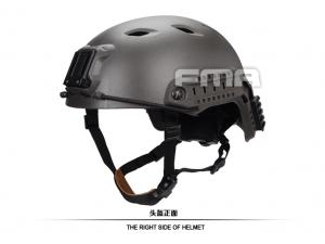 FMA ACH Base Jump Helmet Mass Grey  TB1053-MG