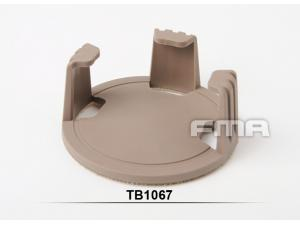 FMA Helmet Frame for Precision Lockout Dip Can Tan Devgru Eagle pouch DE  TB1067-DE