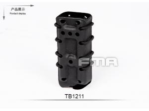 FMA Scorpion pistol mag carrier- Single Stack for 9MM BK with flocking(select 1 in 3 )TB1211-BK