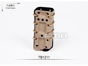 FMA Scorpion pistol mag carrier- Single Stack for 9MM DE with flocking(select 1 in 3 )TB1211-DE