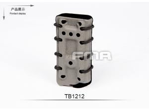 FMA Scorpion pistol mag carrier- Single Stack for 45acp FG with flocking(select 1 in 3 )TB1212-FG