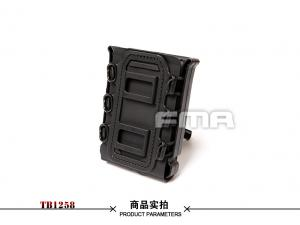 FMA SOFT SHELL SCORPION MAG CARRIER BK (for 7.62)TB1258-BK