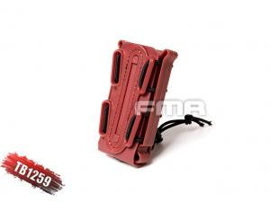 FMA SOFT SHELL SCORPION MAG CARRIER RED (for 9mm)TB1259-RED