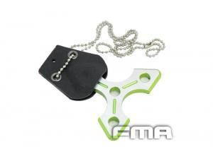 FMA Triangle Necklace (green)TB324