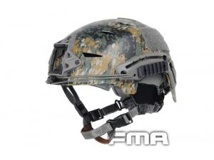 FMA FT BUMP Helmet SetDigital Woodland tb789