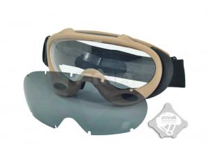 FMA OK ski goggles  black and white lenses DE TB958-DE