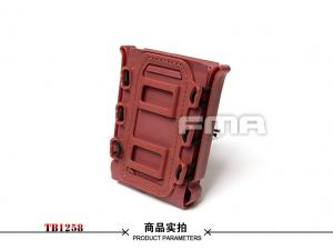 FMA SOFT SHELL SCORPION MAG CARRIER RED (for 7.62)TB1258-RED
