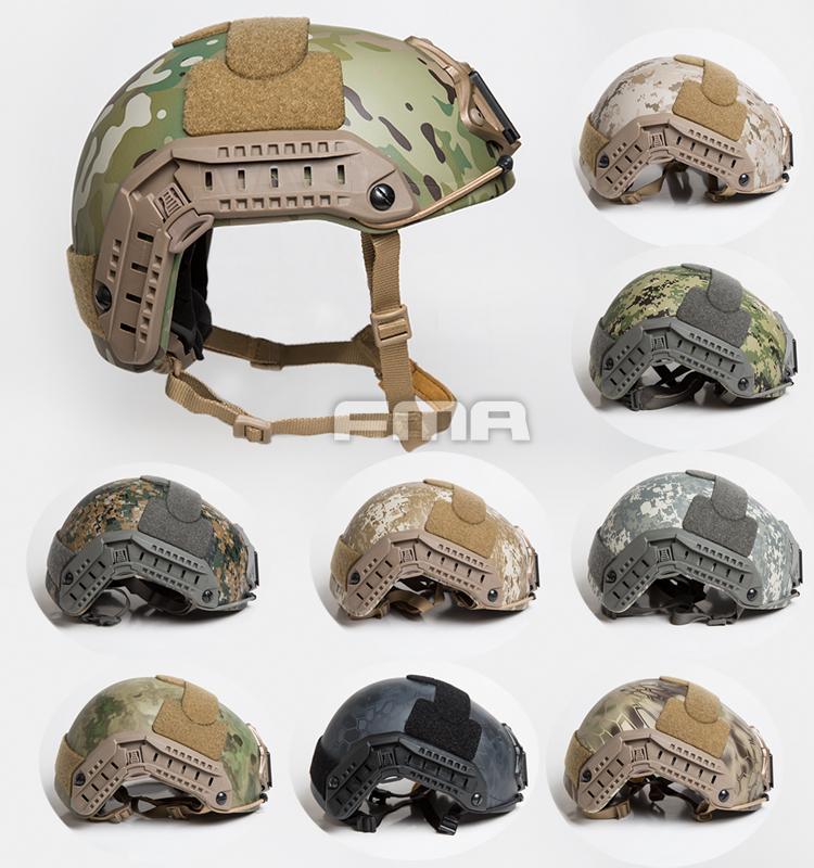Size S//M TB1295 FMA DEVGRU Maritime Helmet Thick and Heavy Version BLACK