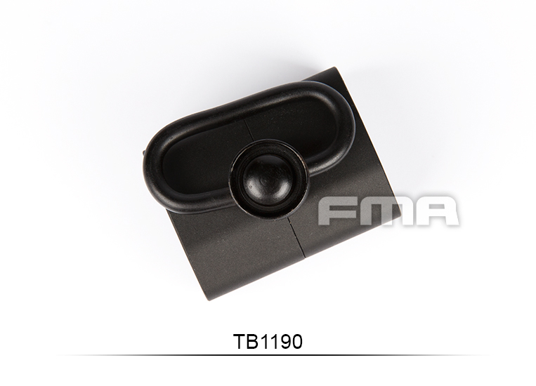 FMA Tactical P90 Rear Sling Mount for King Arms P90 Series TB1190 Black